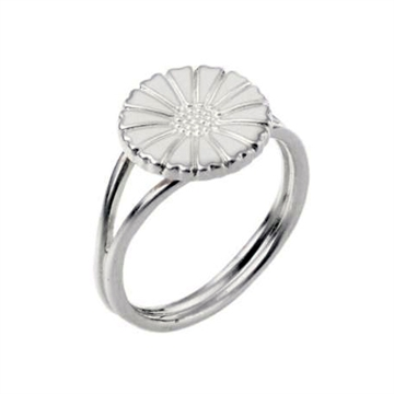 Marguerit ring i Sølv - 11 mm