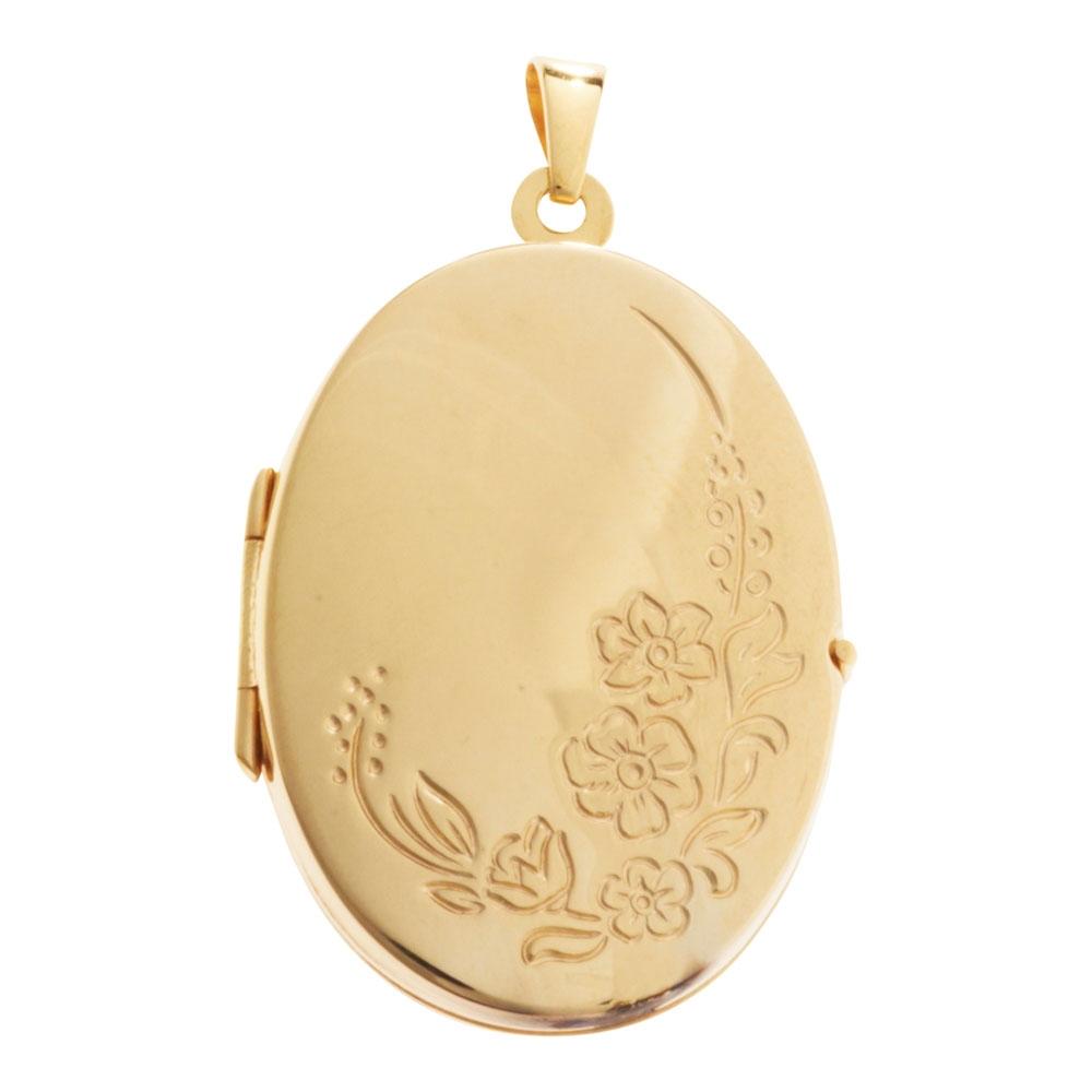 medaljon guld