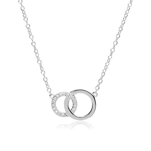 lang halskæde med ring