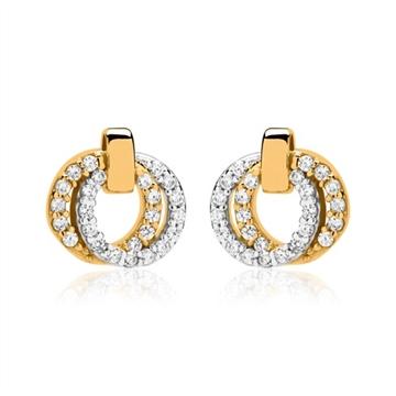 guld øreringe ringe