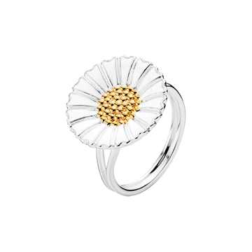 Marguerit ring i Sølv - 18 mm